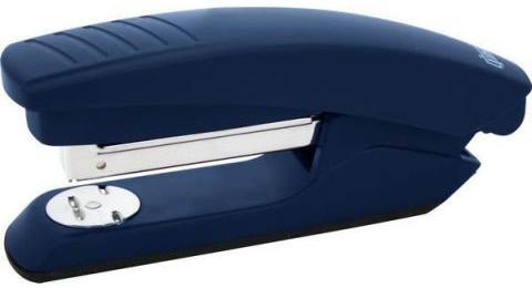 Степлер, скоба №24/6, на 20 листов, пластиковый корпус, синий степлер index ims310 gy 20 листов