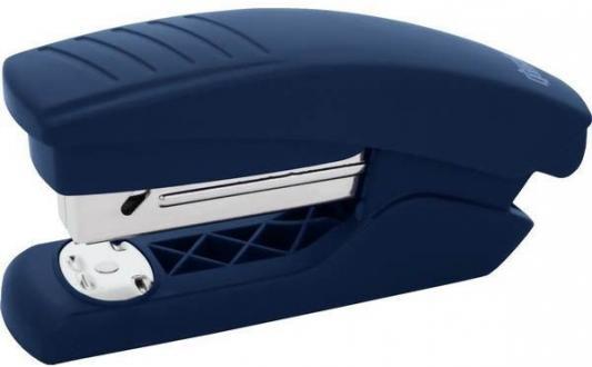Степлер, скоба №24/6, на 15 листов, пластиковый корпус, синий степлер index ims310 gy 20 листов