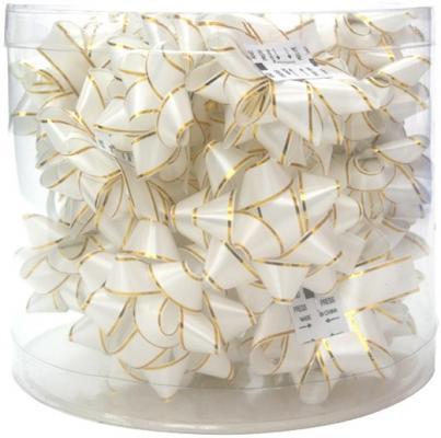 Набор бантиков Golden Gift PW1045 7.6 см 24 шт в ассортименте