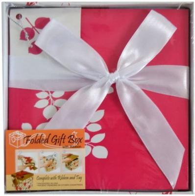 Коробка подарочная Golden Gift ЦВЕТОЧНЫЙ УЗОР 15х15х15 см PW1054/154 коробка подарочная golden gift pw1057 154 15х15х15 см