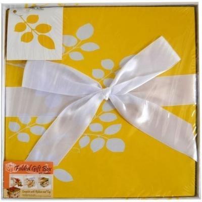 Коробка подарочная Golden Gift ЦВЕТОЧНЫЙ УЗОР 25x25x25 см PW1054/255
