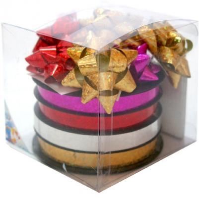 Купить Набор для подарочной упаковки:бантики 12 шт.х 4 см, лента 4 шт.х10 ммх20 м, картонные подарочные бирк, Golden Gift, Подарочные пакеты