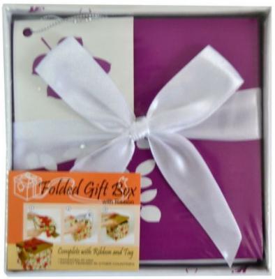 Коробка подарочная Golden Gift ЦВЕТОЧНЫЙ УЗОР 12х12х12 см PW1054/128