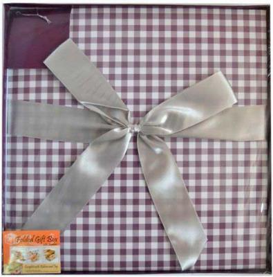 Коробка подарочная Golden Gift КЛЕТКА 30x30x30 см PW1055/305