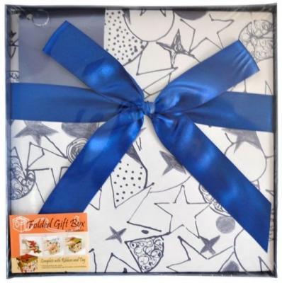 Коробка подарочная Golden Gift PW1057/224 22х22х21 см коробка подарочная golden gift pw1057 154 15х15х15 см