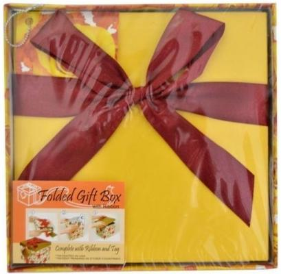 Коробка подарочная Golden Gift ЦВЕТЫ 15х15х15 см PW1058/154
