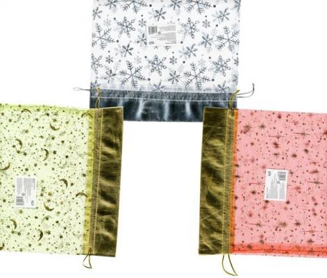 Купить Мешок для подарков Winter Wings BG1361 24х36 см в ассортименте BG1361, Подарочные пакеты