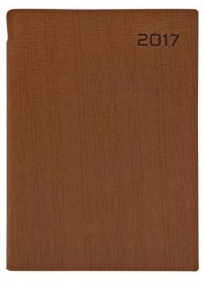 Ежедневник датированный Index AGENT A5 искусственная кожа