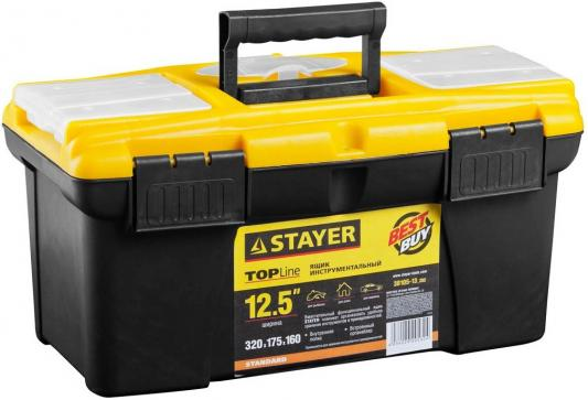 """Ящик для инструмента Stayer Standard 12.5"""" пластиковый с органайзерами 38105-13_z02"""