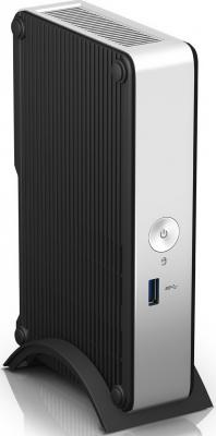 Неттоп Intel DE3815TYKHE Intel Atom-E3815 Intel HD Graphics Без ОС черный серебристый OEM