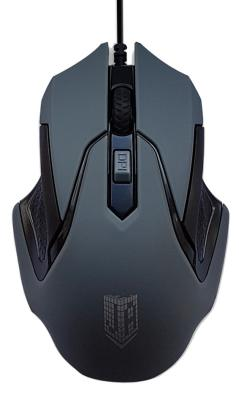 Мышь проводная Jet.A ComfortOM-U57 серый USB