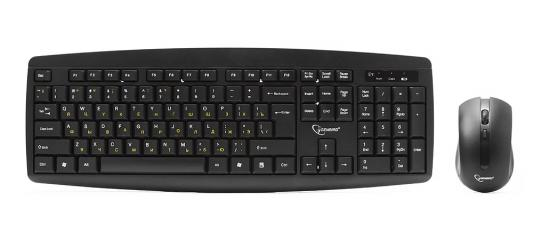 Комплект Gembird KBS-8000 черный USB
