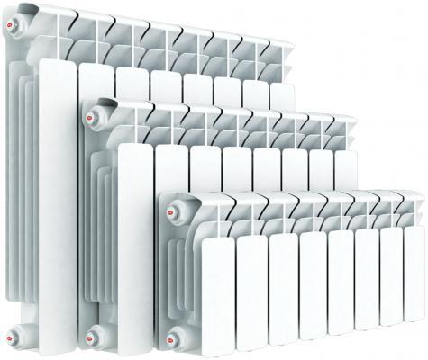 Биметаллический радиатор RIFAR (Рифар) B-500 1 сек. (Кол-во секций: 1; Мощность, Вт: 204) биметаллический радиатор rifar рифар b 500 нп 10 сек лев кол во секций 10 мощность вт 2040 подключение левое