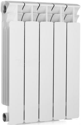 Биметаллический радиатор RIFAR (Рифар) B-500 5 сек. (Кол-во секций: 5; Мощность, Вт: 1020) биметаллический радиатор rifar рифар b 500 нп 12 сек лев кол во секций 12 мощность вт 2448 подключение левое