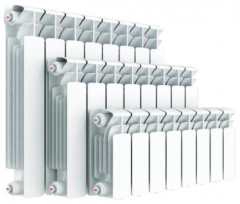 Биметаллический радиатор RIFAR (Рифар)   B-500  6 сек. (Кол-во секций: 6; Мощность, Вт: 1224)