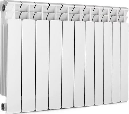 Биметаллический радиатор RIFAR (Рифар) B-500 11 сек. (Кол-во секций: 11; Мощность, Вт: 2244) биметаллический радиатор rifar рифар b 500 нп 12 сек лев кол во секций 12 мощность вт 2448 подключение левое
