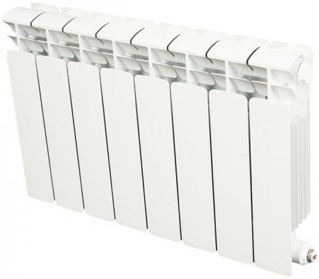 Биметаллический радиатор RIFAR (Рифар) B-350 9 сек. (Кол-во секций: 9; Мощность, Вт: 1224) биметаллический радиатор rifar рифар b 500 нп 10 сек лев кол во секций 10 мощность вт 2040 подключение левое