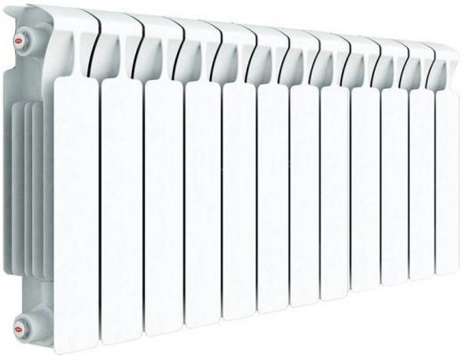 Биметаллический радиатор RIFAR (Рифар) Monolit 500 12 сек. (Мощность, Вт: 2352; Кол-во секций: 12) радиатор бимет rifar monolit 500 10 сек