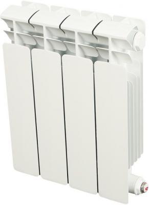 Биметаллический радиатор RIFAR (Рифар) B  350 НП  4 сек. лев. (Кол-во секций: 4; Мощность, Вт: 544; Подключение: левое)  радиатор rifar base b 350 11