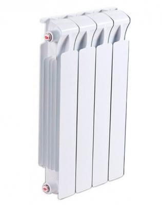 Биметаллический радиатор RIFAR (Рифар) B 500 НП 4 сек. прав. (Кол-во секций: 4; Мощность, Вт: 816; Подключение: правое)