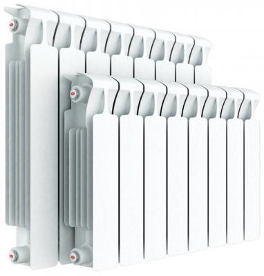 Биметаллический радиатор RIFAR Monolit Ventil 500 7 сек. прав. (Кол-во секций: 7; Мощность, Вт: 1372; Подключение: правое) биметаллический радиатор rifar monolit 500 сек 14