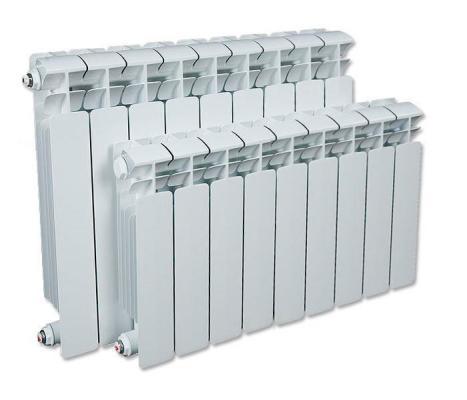 Биметаллический радиатор RIFAR Monolit Ventil 500 9 сек. лев. (Кол-во секций: 9; Мощность, Вт: 1764; Подключение: левое)