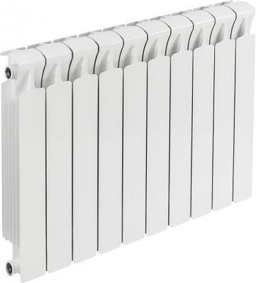 Биметаллический радиатор RIFAR Monolit Ventil 500 10 сек. лев. (Кол-во секций: 10; Мощность, Вт: 1960; Подключение: левое) биметаллический радиатор rifar monolit 500 сек 14