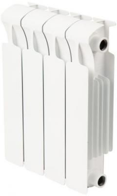 Биметаллический радиатор RIFAR Monolit Ventil 350  4 сек. прав. (Кол-во секций: 4; Мощность, Вт: 536; Подключение: правое) биметаллический радиатор rifar monolit ventil mvr 350 04