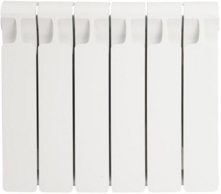 Биметаллический радиатор RIFAR Monolit Ventil 350 6 сек. прав. (Кол-во секций: 6; Мощность, Вт: 804; Подключение: правое) биметаллический радиатор rifar рифар b 500 нп 10 сек лев кол во секций 10 мощность вт 2040 подключение левое