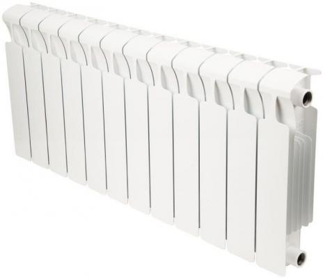 Биметаллический радиатор RIFAR Monolit Ventil 350 12 сек. прав. (Кол-во секций: 12; Мощность, Вт: 1608; Подключение: правое) биметаллический радиатор rifar рифар b 500 нп 10 сек лев кол во секций 10 мощность вт 2040 подключение левое