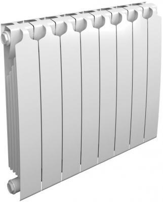 Биметаллический радиатор  Sira RS 500 х  8 сек. (Кол-во секций: 8; Мощность, Вт: 1608) SFRS050008XX  биметаллический радиатор sira rs500 8 сек