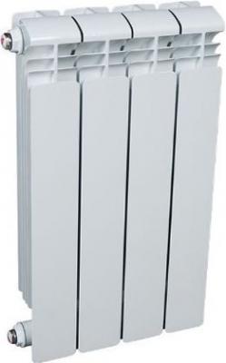 Алюминиевый радиатор Рифар RIFAR Alum 350  4 сек. VL лев. (Кол-во секций: 4; Мощность, Вт: 556; Подключение: левое)  алюминиевый радиатор rifar alum ventil avr 500 14