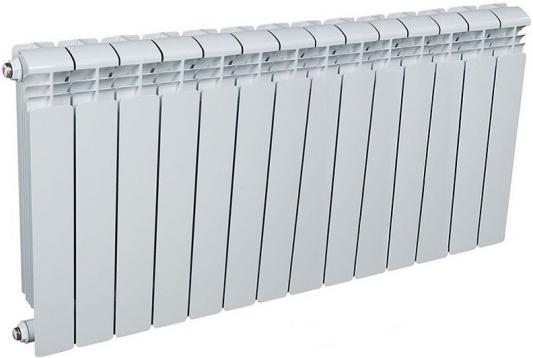 Алюминиевый радиатор Рифар RIFAR Alum 500 14 сек. VL лев. (Кол-во секций: 14; Мощность, Вт: 2562; Подключение: левое)  алюминиевый радиатор rifar alum ventil avr 500 08