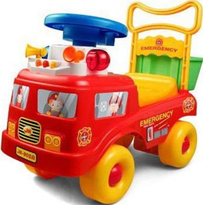 Каталка-машинка Shantou Gepai пластик от 3 лет на колесах красный  JR902B