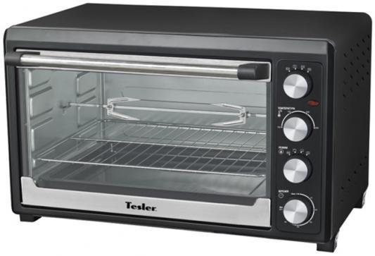 Мини-печь TESLER EOG-6000 чёрный морозильник tesler rf 90 белый