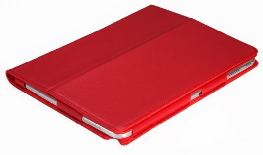 Чехол IT BAGGAGE для планшета Lenovo IdeaTab 2 A10-30 10 искусственная кожа красный ITLN2A103-3 аксессуар чехол lenovo ideatab s6000 g case executive white