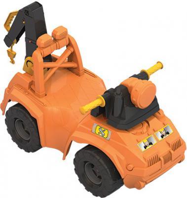Каталка-машинка Нордпласт 431013 оранжевый от 2 лет пластик 4607006444904