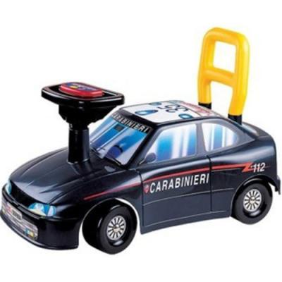 Каталка-машинка Нордпласт Авто Карабинеры черный от 1 года пластик 431014