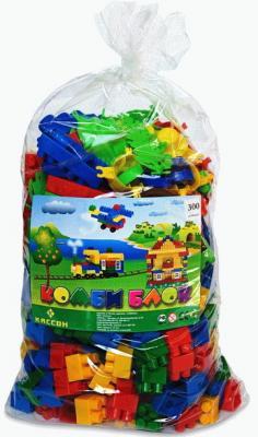 Купить Конструктор Кассон Комби блок 300 элементов 4-532, Пластмассовые конструкторы
