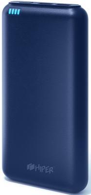 Портативное зарядное устройство HIPER SP20000 20000мАч синий портативное зарядное устройство usb sony cp s20b 20000мач