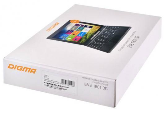 "Планшет Digma EVE 1801 3G 10.1"" 32Gb серый Wi-Fi Bluetooth 3G Windows ES1049EG 373439"