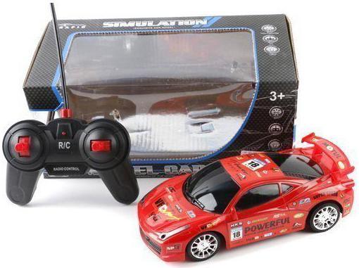 Машинка на радиоуправлении Shantou Gepai Model Car от 3 лет красный