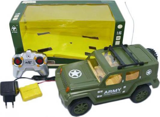Машинка на радиоуправлении Shantou Gepai 6137-4 пластик от 3 лет зелёный 6927710250768