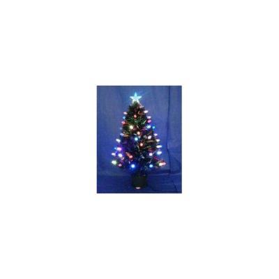 Купить Ель Winter Wings N04124 зеленый 60 см световод с разноцветными супер-яркими шишками, 18 LED шишек, 60 веток, Искусственные ели и сосны