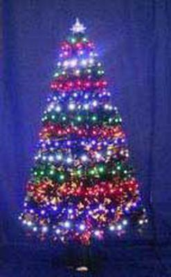 Ель Winter Wings N04126 60 см световод с разноцветными супер-яркими лампами, 60 ламп LED,60 веток