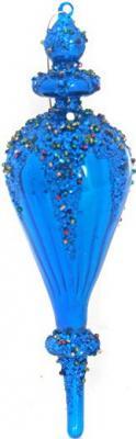 Фото - Елочные украшения Winter Wings ПОДВЕСКА цвет в ассортименте 11 см 2 шт стекло N07266 елочные украшения winter wings звезды в ассортименте 13 см 5 шт