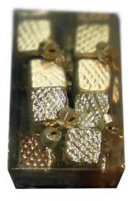 Елочные украшения Winter Wings разноцветный 3 см 16 шт стекло N07250 елочные украшения winter wings сова золотой 7 см 3 шт стекло n07987