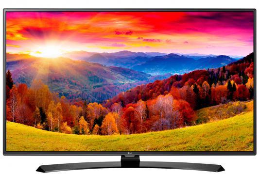 Телевизор LG 49LH604V черный
