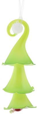 Украшение Winter Wings Елочка зеленый 20 см 1 шт стекло N07504 украшение новогоднее подвесное winter wings me to you мишка тедди высота 11 см