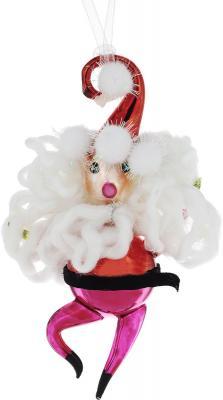 Елочные украшения Winter Wings Дед Мороз 16 см 1 шт стекло N07510 цена в Москве и Питере